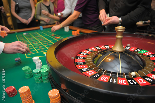 Fotografie, Obraz  gambling