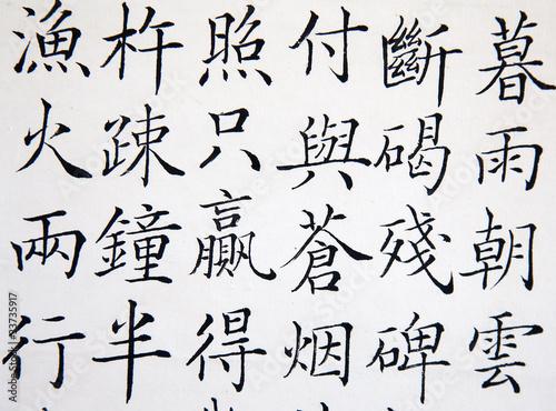Fényképezés chinese hieroglyph