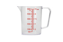 Plastic Kitchen Measuring Cup