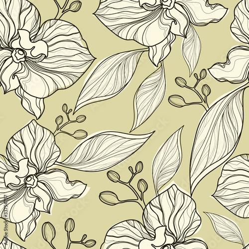 bezszwowe-kwiatowy-wzor-orchidei