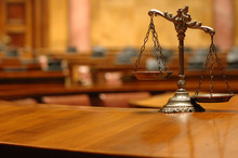 Decorative Scales Of Justice I...