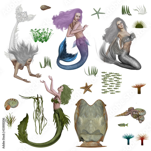 Photo mermaids
