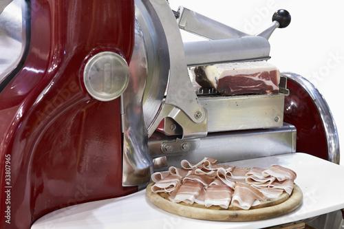 Fotografie, Obraz  ham slice