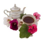 Antique Bone China Tea Set Iso...