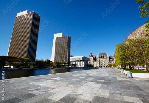 Fotografie, Obraz  Street view of Albany, New York.