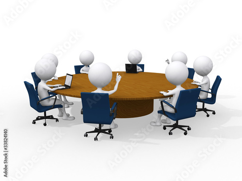 Fotografie, Obraz  Concept of business meeting