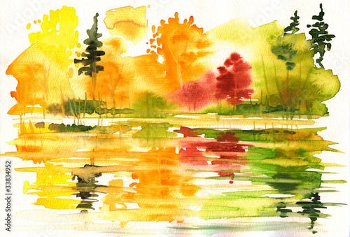 jesienny-krajobraz-z-jeziorem-i-lasem