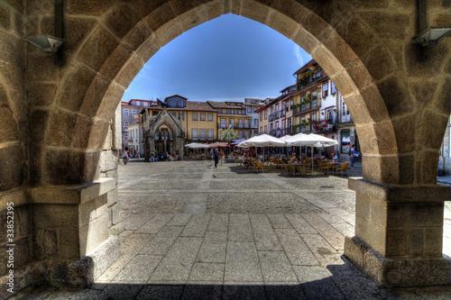 Fotografie, Obraz  Oliveira's Square, Guimarães, Portugal