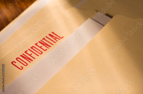 Fotomural Confidential documents