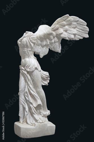 Fotografie, Obraz  Greek classical statue of 'Nike' from Samothrace