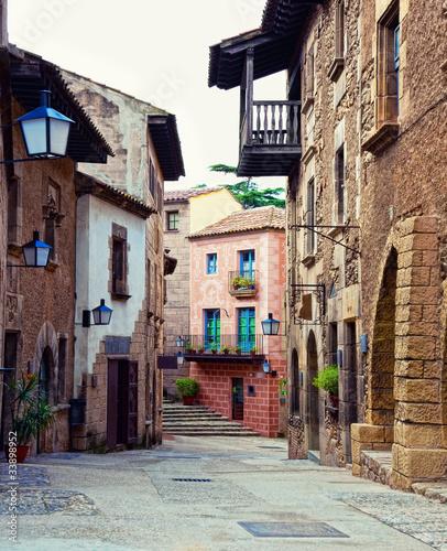Fototapeta barcelona hiszpanska-ulica
