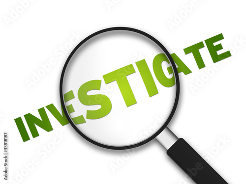 Foto  Magnifying Glass - Investigate