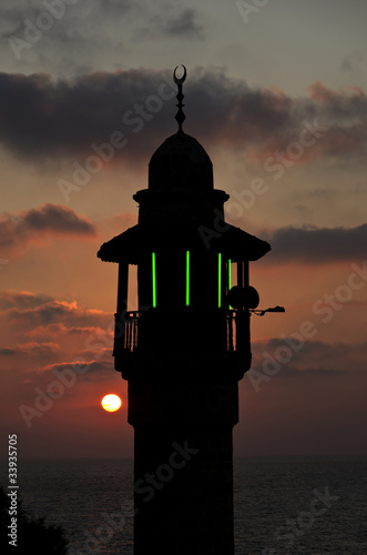 Fotografia, Obraz Muezzin-Minaret