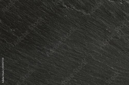 Tuinposter Stenen closeup texture of black slate