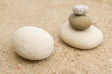 Fototapeta na wymiar galets zen