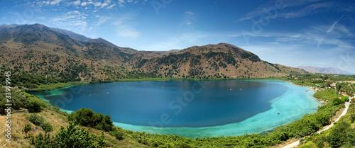 Fényképezés Kourna lake