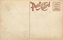 Old Fashioned Postcard