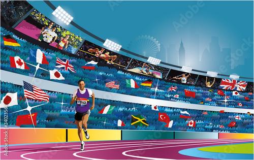 Fotografía  Summer Olympic games in London. 2012