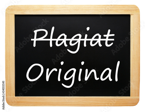 Fotografering  Plagiat und Original