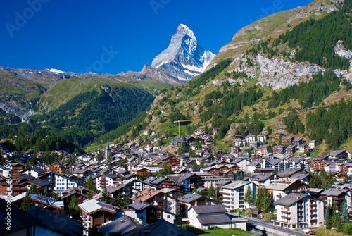 Obraz na plátně  matterhorn, zermatt, switzerland.