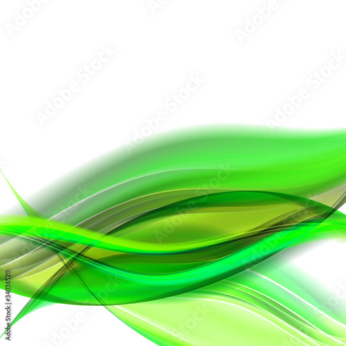 Staande foto Fractal waves abstract elegant background design with space for your text