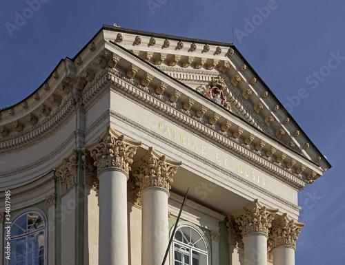 Fotografie, Obraz  Theatre in Prague (Stavovske Divadlo)
