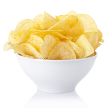 Potato Chips Bowl With Clippin...