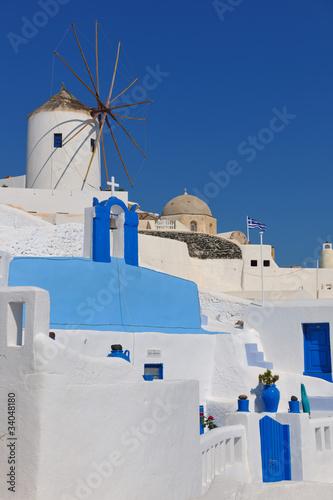 Staande foto Tunesië greece santorini