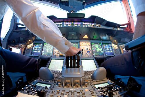 Photographie Cockpit