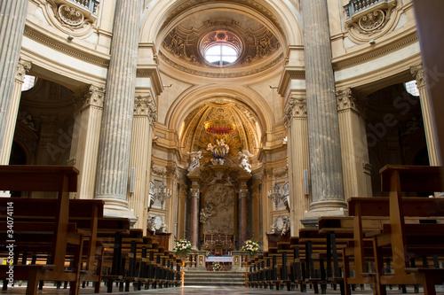 Fotografie, Obraz  Basilica di Superga, interno