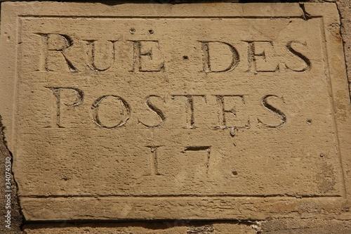 Fotografie, Obraz  Rue des Postes