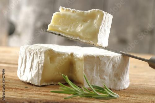 Camembert prêt à être dégusté