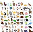 Большой набор животных