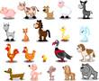 сверхбольших домашние животные мультфильм набор