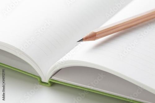 Fotografía  ノートと鉛筆