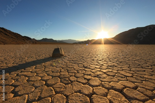 Photo sur Aluminium Desert de sable Beautiful Sand Dune Formations in Death Valley California