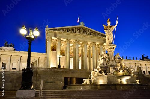 Fotobehang Wenen wien Parlament