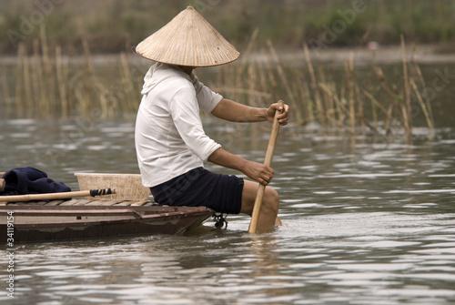 Fotografía Vietnamese Fishermen