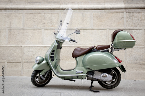 Vespa scooter - Buy this stock photo and explore similar