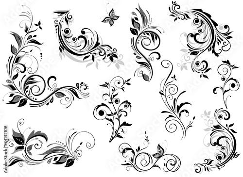 Fotografía  Vintage floral design