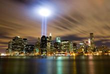 911 Light Memorial In New York...