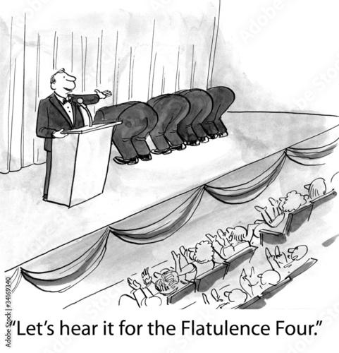 Αφίσα  Flatulence Four