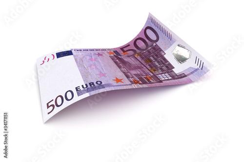 Photo  500 Euro Note