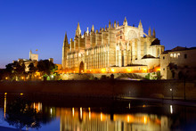 Cathedral Of Majorca In Palma ...