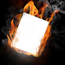 Fire Photo Frame
