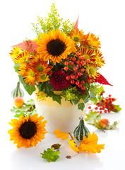 Fototapeta Jesień Autumnal flowers