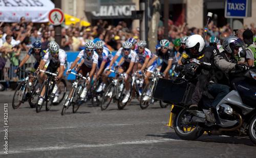 Foto op Aluminium journaliste sportif