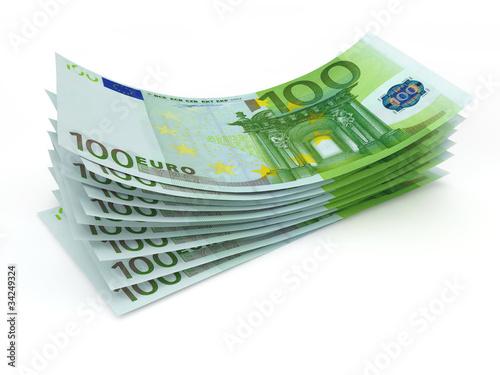 Fotomural Geld