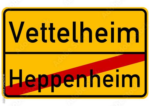 Vettelheim Canvas Print