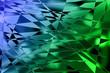 blau-grüne Kacheln